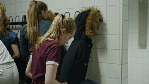 PÅ HÅNDBALLTRENING: Krisa oppstår rett etter en helt vanlig situasjon, der datteren har vært på håndballtrening.