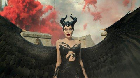 ANGELINA JOLIE: Som i den første filmen som er en fortsettelse av Tornerose-historien, er det Angelina Jolie som spiller hovedrollebn i Maleficent: Mistress of Evil.