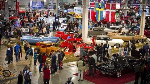 """NORGES FLOTTESTE BILER: Siden starten i 2010 har """"Skandinavias Flotteste Bil"""" blitt kåret hvert år på Oslo Motor Show. I år kan du se alle de ni vinnerne samlet i en flott utstilling, opplyser arrangøren."""