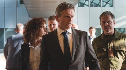 KOMMER TIL RJUKAN: Yellowbird som produderer serien for ViaPlay har Henrik Mestad som en av de bærende rollene som norsk statsminister.