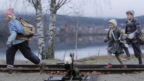 FLUKTEN OVER GRENSEN: Filmen Flukten over grensen handler om barn på flukt fra jødeutryddelsen under den andre verdenskrigen i Norge.