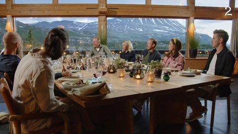 PÅ GAUSTABLIKK: Hele TV2-serien Landskampen blir et must for telemarkinger, da alt er filmet på Rjukan, i Gaustaområdet og i Tinn.