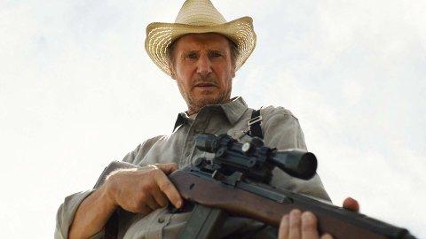 THE MARKSMAN: Liam Neeson er til å stole på, og må rydde opp igjen mot narkokartell-mordere som jakter på en unggutt.