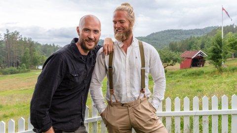 SAMMEN IGJEN: Terje Sporsem og Lasse Matberg blir i sommer å se på TV 2, i et eget program i forbindelse TelemarksVeka. Foto: TV2