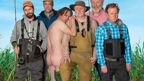 SKITT FISKE: Islandsk gutta-komedie som beskrives som det du trenger akkurat nå.