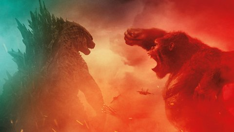 GODZILLA VS KONG: Det er naturligvis to legender som kolliderer når disse to motstanderne møtes i en spektakulær kamp med verdens skjebne på spill.