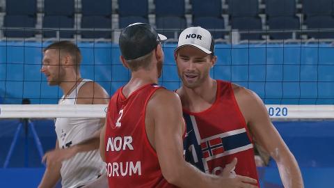 TIL OL-FINALE: Det norske laget Anders Mol og Christian Sørum gikk til finale der de møter Russland.