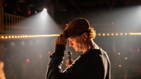 INGENTING Å LE AV: Odd-Magnus Williamson har skrevet manus, og spiller hovedrollen i Elling-regissøren Petter Næss sin nye film.