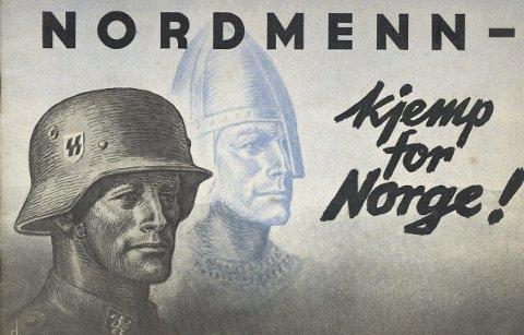 Forside på vervebrosjyre til  krigsinnsats på tysk side. Ole fikk tuberkulosebehandling i 1938/39 og kunne ikke bli soldat. ILLUSTRASJON: Riksarkivet i Kristiansand