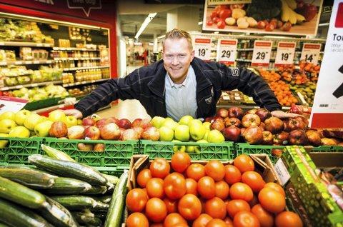 VELTILPASS: – Jeg har spist meg frisk på flere måter, både fysisk og psykisk, sier Lasse Sørlie.