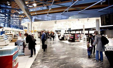 ÅPNER: Elkjøp er på vei inn på Oslo lufthavn.Foto: tom gustavsen