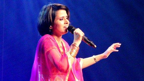 """INDISK: Sniti Mishra er kjent fra tv-programmet """"Sa Re Ga Ma Pa Singing Superstar""""."""