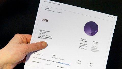 NÅ HASTER DET: Det er forsatt mange nordmenn som ikke har betalt kringkastingsavgiften. Foto: Gorm Kallestad / NTB scanpix