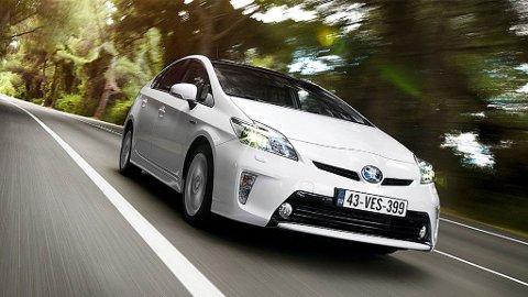 Får Finansdepartementet som de vil må du punge ut med 150 kroner dagen om du ikke har forsikringen i orden.  illustrasjonsfoto Toyota Prius.