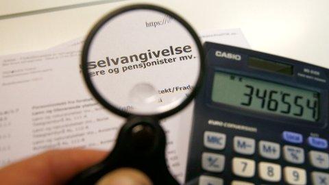Fordelingen av gjeldsrenter på lån er en av postene på selvangivelsen nordmenn gjør oftest endringer på. Foto: Terje Pedersen (NTB scanpix)