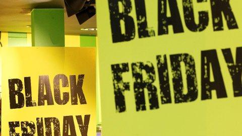 FRA SVART TIL GRØNT: Black Friday får kamp av Grønn Fredag.