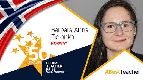 STOLT: – Dette er det største jeg har opplevd, sier Barbara Anna Zielonka.