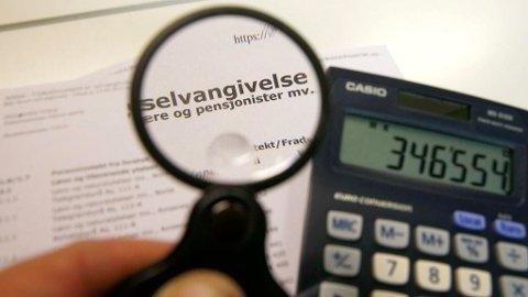 NYTT NAVN: Selvangivelsen har hatt navnet sitt siden 1913. Nå har den fått nytt navn. Foto: Terje Pedersen (NTB scanpix)