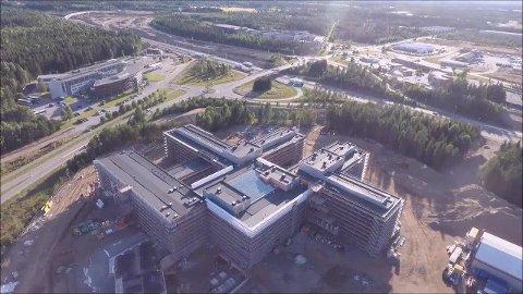 I FARE: Både det nye sykehuset på Gardermoen og 300 arbeidsplasser kan stå i fare om Helse Sør-Øst kutter i rammeavtalene med LHL.