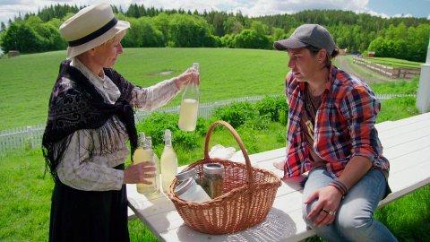 FORLOT FARMEN: Erlend Elias valgte å forlate Farmen som storbonde.