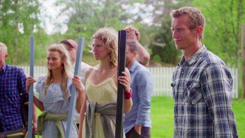 TV 2 beskriver seertallene på Farmen kjendis som skyhøye. I kveld skal det velges ny førstekjempe på gården. FOTO: TV2
