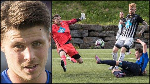 MÅLSCORER: Sindre Mauritz-Hansen håper å få fart på karrieren i Strømmen. I Stabæk scoret han hat trick i to cupkamper, elelrs ble 2017 en tung sesong.