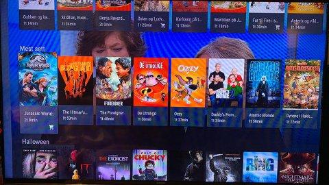Film- og serietjenesten gir deg treff fra en lang rekke tjenester samlet i ett brukergrensesnitt.