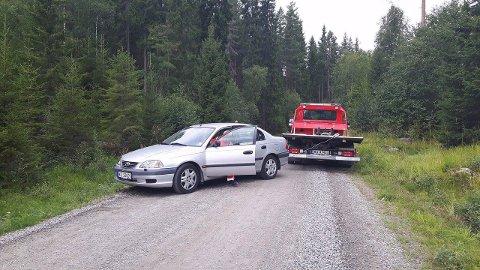 STOR REGNING: Linn Olafsen fikk regning på 13.000 kroner etter dette bergingsoppdraget.
