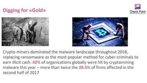 Tallene for utbredelse av såkalte cryptominere er ekstremt store.
