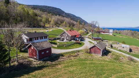 Bruket ligger ved Mjøsa og ny eier får blant annet to bolighus og egen strandlinje.