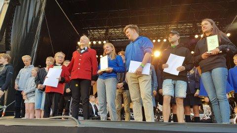 Skjold Skoles Musikkorps vant NM skolekorps janitsjar foran Midtun Skoles Musikkorps og Lørenskog Skolekorps.