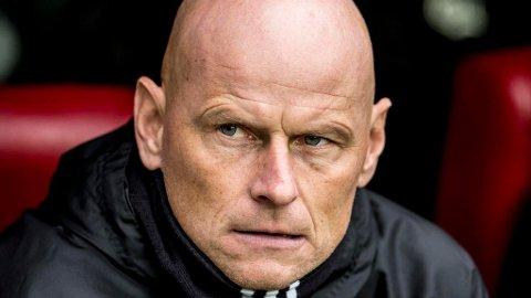 POSITIVT OVERRASKET:  FC København-trener Ståle Solbakken mener LSK har gjort et klokt valg i ansettelsen av Jørgen Lennartsson. Foto: Mads Claus Rasmussen / Scanpix Denmark (NTB scanpix)