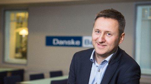 ADVARER MOT RENTEØKNING: Sjeføkonom Frank Jullum i Danske Bank går mot rentestrømmen og tror på en renteøkning om fem måneder.