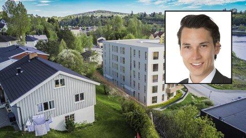 Daglig leder Per Erik Haugen ved DnB Eiendoms avdeling på Råholt ser en ny trend.