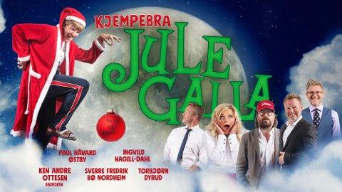 Kjempebra Julegalla med folk og figurer fra Urbane Totninger!