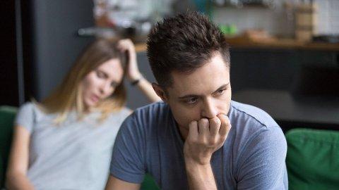USIKKER: Har forholdet skrantet en stund? Om du er usikker på om du bør gjøre det slutt eller ikke bør du først gå inn i deg selv.