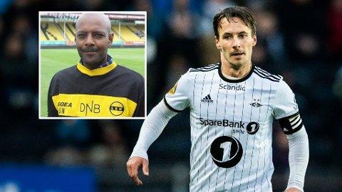 I ORDKRIG: Sportsdirektør i Lillestrøm Simon Mesfin er ikke fornøyd med Mike Jensen sine uttalelser etter lørdagens storkamp. FOTO: SCANPIX