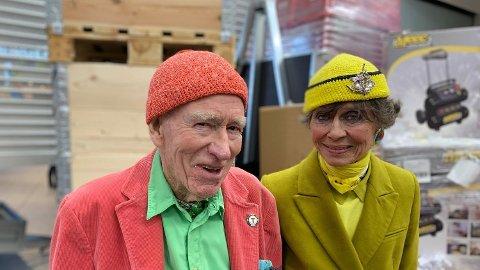 BRYLLUP I SOMMER: GIFTER SEG: Olav Thon og Sisse Berdal Haga skal gifte seg i sommer. Foto: Halvor Ripegutu