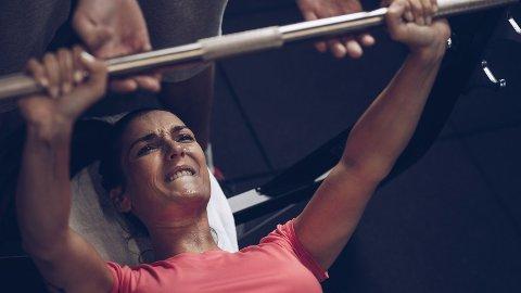 KORT ØKT: Studie viser at 13-minutters treningsøkter gir god effekt hvis man ønsker å bli sterkere, men kun hvis man pusher seg selv til absolutt maks. Foto: Getty Images