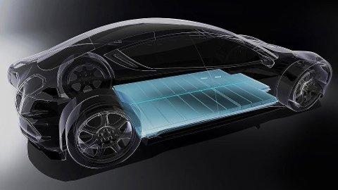 Den danske bilentreprenøren Henrik Fisker hevder at hans elbil vil bli utstyrt med faststoffbatterier. Kritikere mener teknologien ikke er klar. Foto: Fisker Inc.