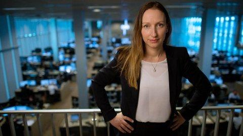 REKORDSVAK KRONE: Sjeføkonom Kjersti Haugland i DNB Markets advarer nordmenn mot en enda svakere krone. Foto: (DNB Nyheter)
