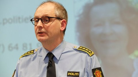Politiinspektør Tommy Brøske i Øst politidistrikt  Foto: Terje Bendiksby / NTB scanpix.