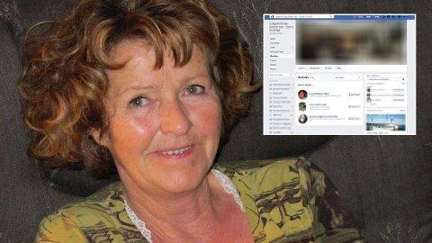 Anne-Elisabeth Hagen innmeldt i Facebook-gruppe syv måneder før hun forsvant. Foto: Privat og skjermdump (montasje Nettavisen)