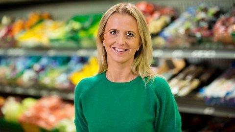TRIVES: Kristine Arvin, kommunikasjonssjef i Kiwi, forteller til RB at butikkjeden trives på Strømmen.
