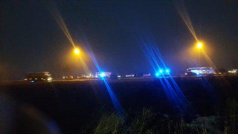 UHELL: Fem biler har vært involvert i en kjedekollisjon ved Kløfta i retning Oslo, og nødetatene er på stedet.