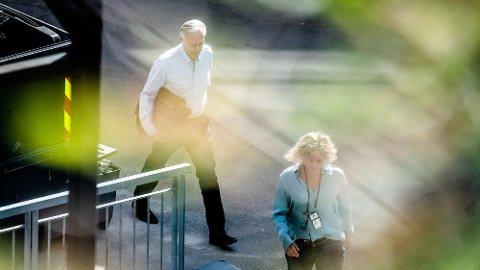 SIKTET: Tom Hagen er fremdeles siktet for drap eller medvirkning på drap av kona. Nå innrømmer imidlertid politiet at de ikke har nok til å ta ut en tiltale.