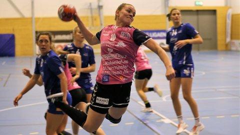 SCORET 10: Anniken Wollik scoret ti mål i onsdagens kamp mot Tertnes.
