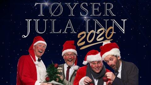 Latterlig god julestemning med Jonas Rønning, Paul Håvard Østby, Jan Martin Johnsen og Torbjørn Dyrud
