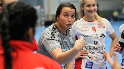 SKUFFET: Rælingens trener Ane Mällberg var skuffet over både dommerne og egne prestasjoner i Marikollhallen onsdag.