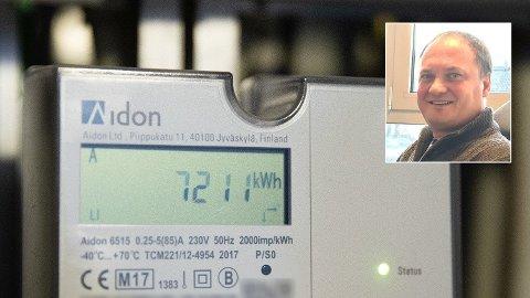 HALV PRIS: - I hvert fall ut 2020 kan vi regne med kraftpris ned mot 20 øre, eller rundt halvparten av 2019-prisene. Det blir vesentlig lavere priser enn i fjor, sier Tore Reier Lileholdt, kraftanalytiker i Wattsight.